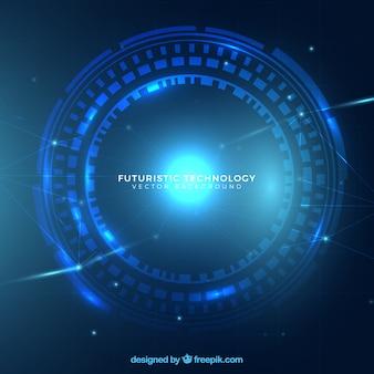 Fondo abstracto de tecnología