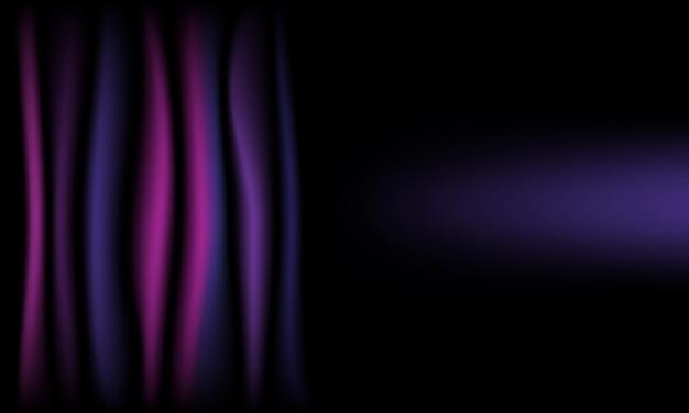 Fondo abstracto de tela de seda violeta con espacio de copia