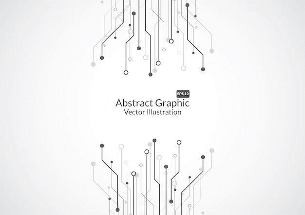 Fondo abstracto con textura de placa de circuito de tecnología