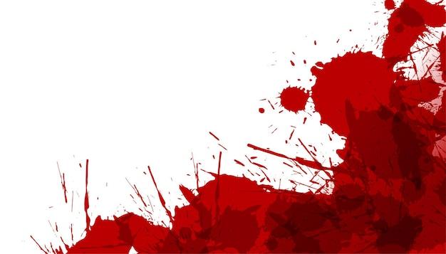 Fondo abstracto de la textura de la salpicadura del derrame de la mancha de sangre