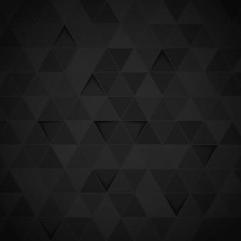 Fondo abstracto de triángulo