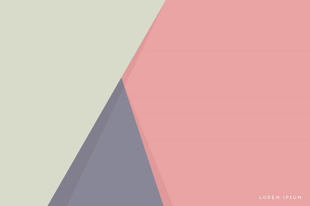 Fondo abstracto con triángulos coloridos