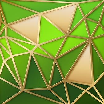 Fondo abstracto con triángulos geométricos