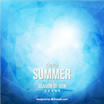 Fondo abstracto de verano