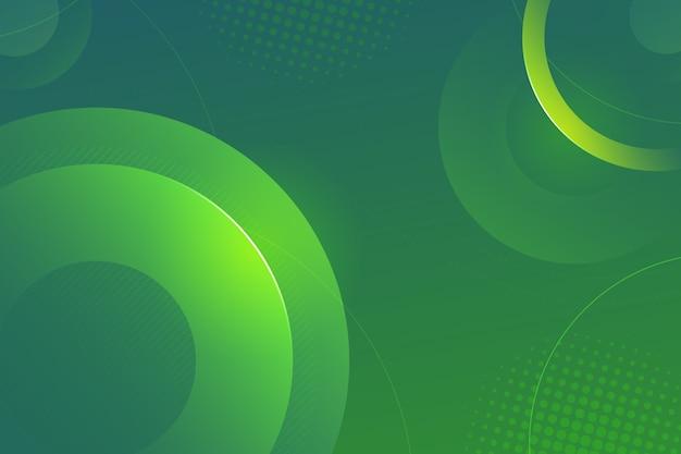 Fondo abstracto verde colorido
