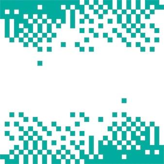 Fondo abstracto verde de píxeles