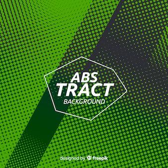 Fondo abstracto verde de semi tono