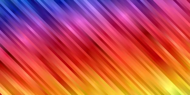 Fondo abstracto vibrante color degradado. papel pintado de rayas