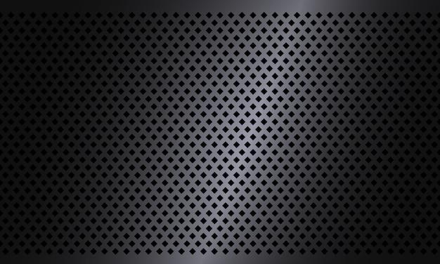 Fondo de acero oscuro textura rombo. patrón de textura geométrica fondo de diseño industrial. metal textura de aluminio telón de fondo.