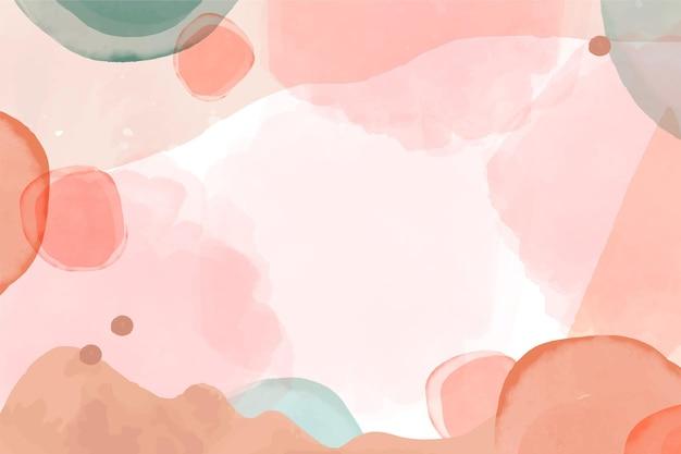 Fondo de acuarela abstracta acuarela pintada a mano vector gratuito