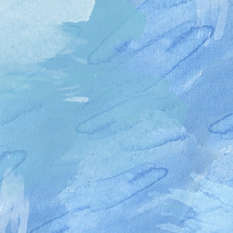 Fondo acuarela abstracta azul