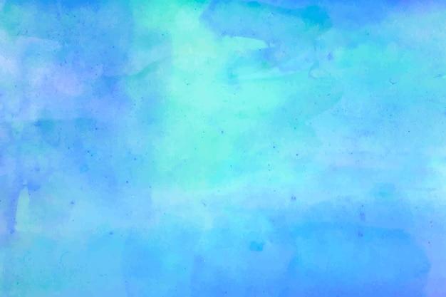 Fondo de acuarela abstracta azul