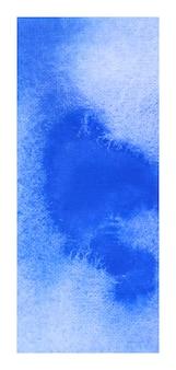 Fondo de acuarela abstracta de banner rollup azul