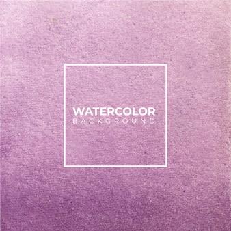Fondo acuarela abstracta púrpura el color que salpica en el papel.