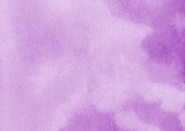 Fondo de acuarela abstracta púrpura y fondo de textura