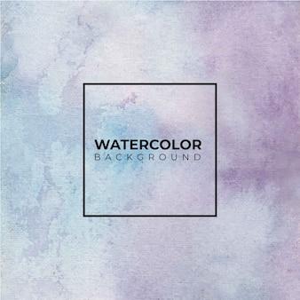 Fondo acuarela abstracta púrpura, pintura a mano. color que salpica en el papel