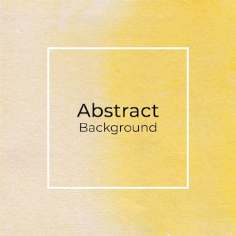 Fondo acuarela amarillo abstracto
