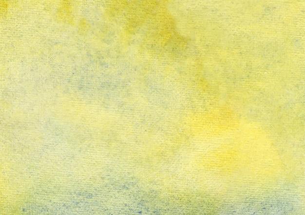 Fondo de acuarela amarillo y fondo de textura abstracta