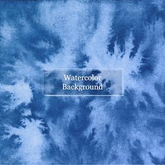 Fondo acuarela azul abstracto