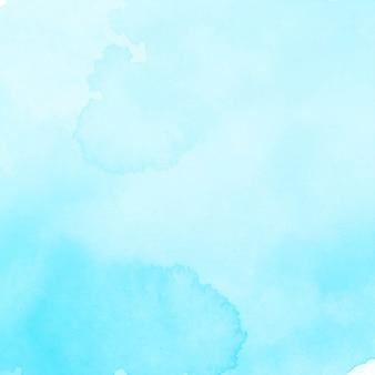 Fondo de acuarela azul elegante moderno