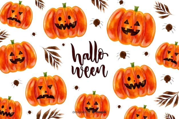 Fondo acuarela de halloween