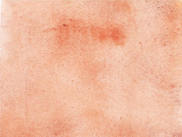 Fondo de acuarela marrón abstracto. es una mano dibujada.