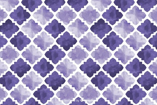 Fondo acuarela mosaico