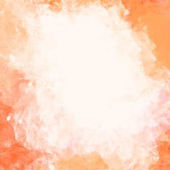 Fondo de acuarela naranja