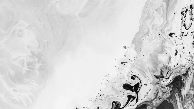 Fondo de acuarela negro abstracto