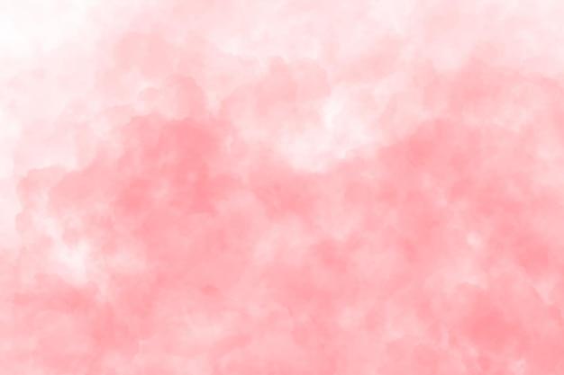 Fondo de acuarela con nubes