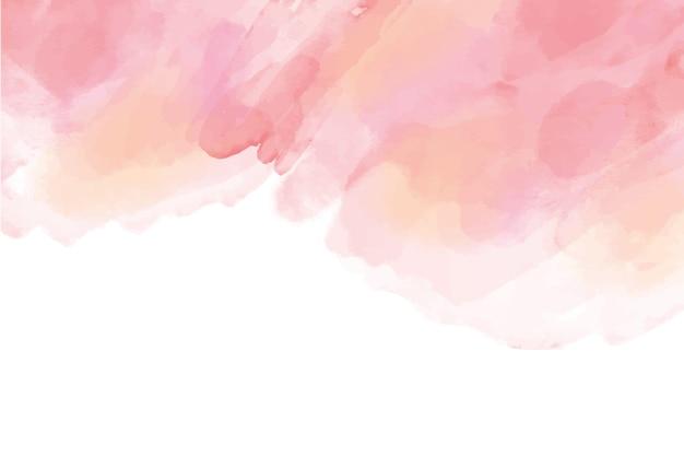 Fondo de acuarela pintada a mano