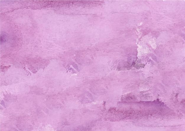 Fondo de acuarela púrpura abstracto colorido