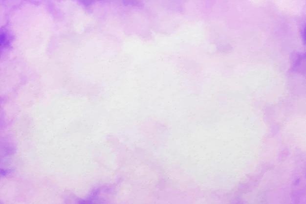 Fondo de acuarela púrpura abstracto