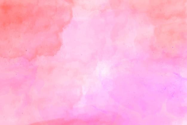 Fondo de acuarela rosa abstracta