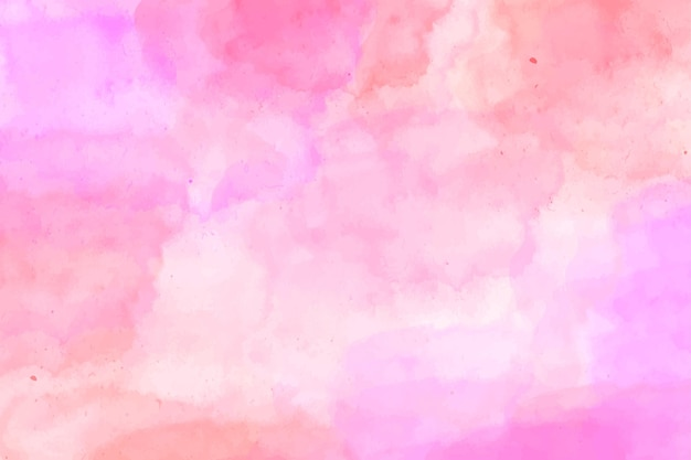 Fondo de acuarela de tonos rosa abstractos
