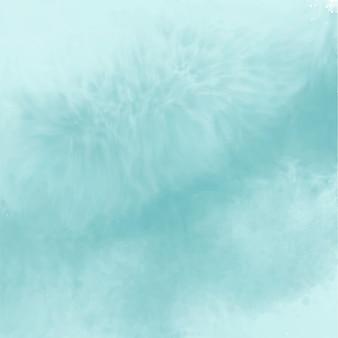 Fondo de acuarela vacío azul abstracto