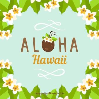 Fondo aloha coco