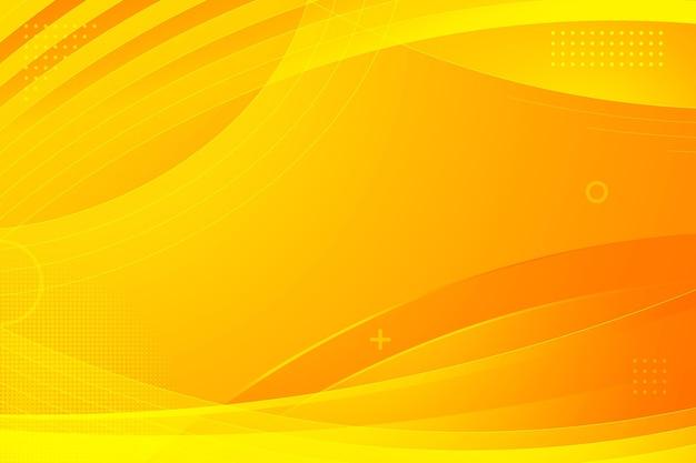 Fondo amarillo abstracto degradado