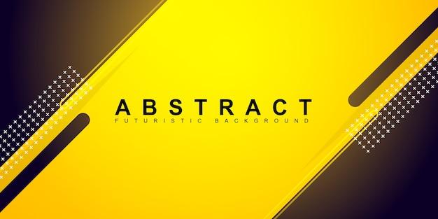 Fondo amarillo mínimo abstracto
