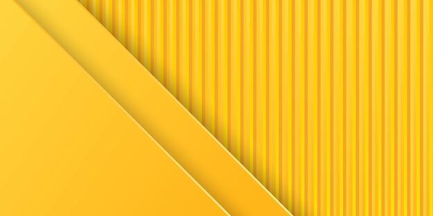 Fondo amarillo con textura de metal 3d