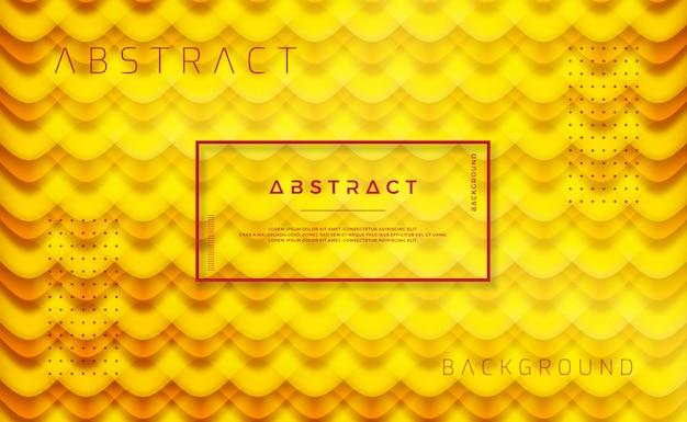 Fondo anaranjado abstracto del vector.
