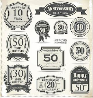 Fondo de aniversario