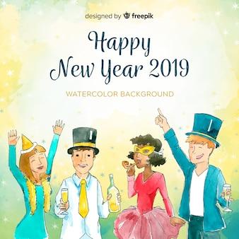 Fondo año nuevo 2019