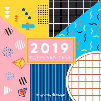 Fondo de año nuevo 2019