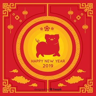 Fondo año nuevo chino