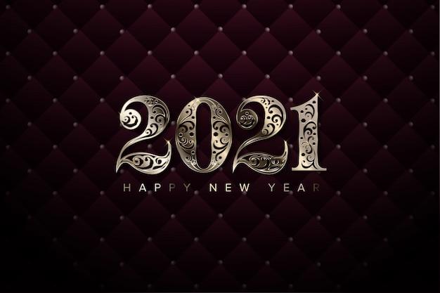 Fondo de año nuevo de lujo 2021