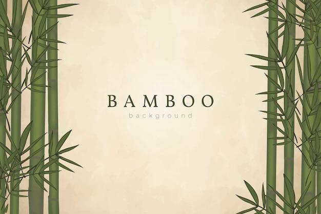Fondo de arbol de bambu