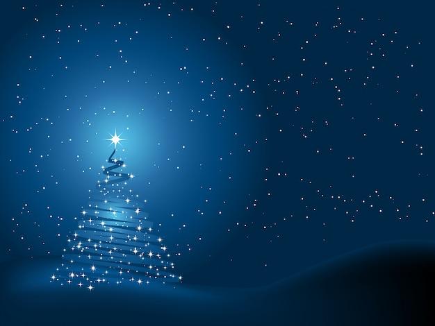 Fondo del árbol de navidad