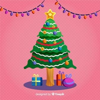 Fondo árbol de navidad