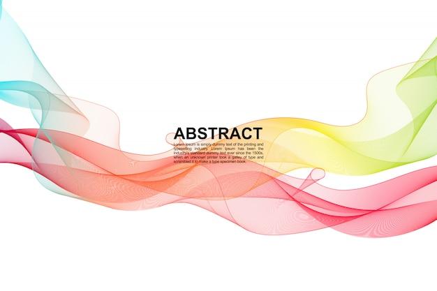 Fondo de arco iris líquido abstracto dinámico
